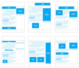 iklan blank, cara memunculkan iklan blank, kenapa iklan blank, iklan non hosted blank, opsi upgrade adsense hilang