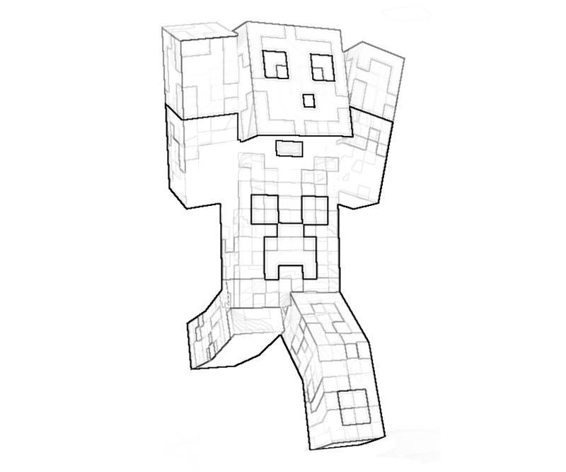 Minecraft Character Yumiko Fujiwara