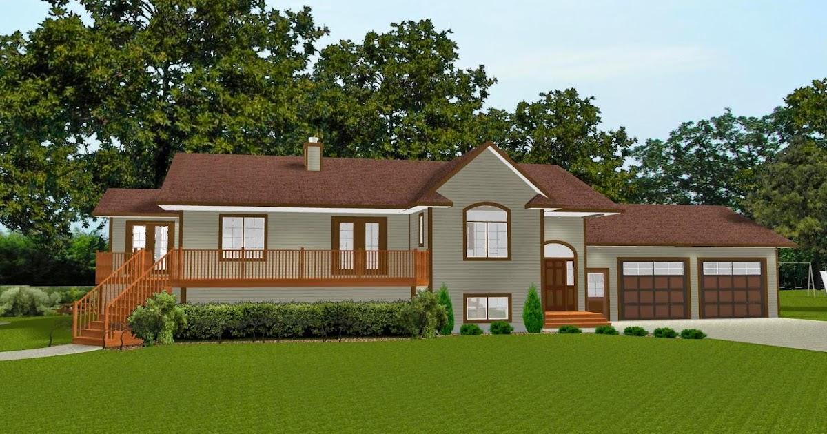 Bi Level House Plans With Basement Suites - Home Design Inside