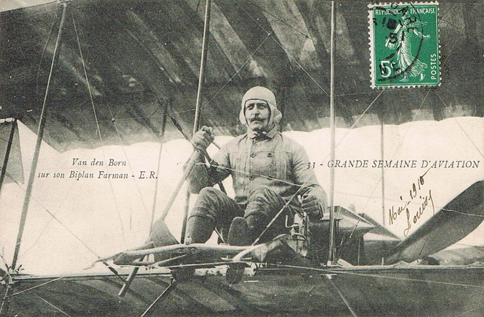 Aviateur Van den Born