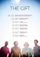 Conciertos de The Gift en España en 2017