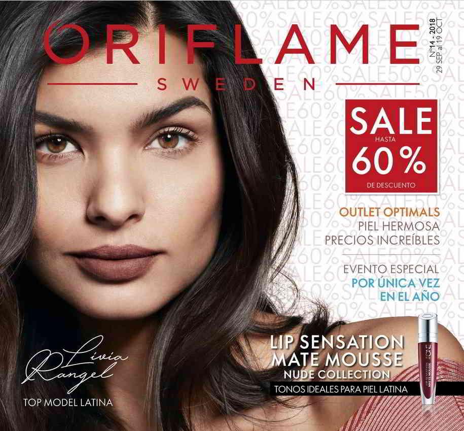 catalogue oriflame octobre 2018