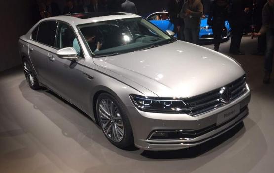 2018 Volkswagen Phideon Design