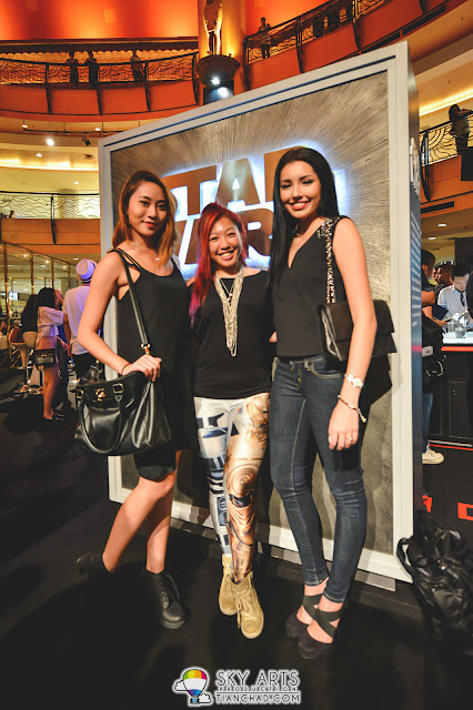 Linora Low with friends @ Star Wars x Royal Selangor Collection Preview