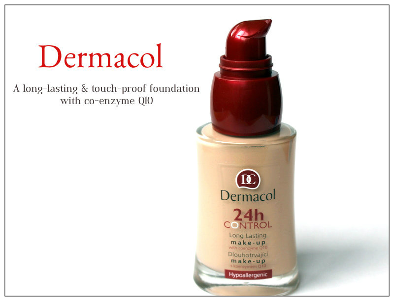 Review: Dermacol A long-lasting & touch-proof foundation with co-enzyme Q10