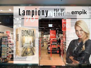 Gdzie kupić jedną książkę? - LAMPIONY POP UP STORE