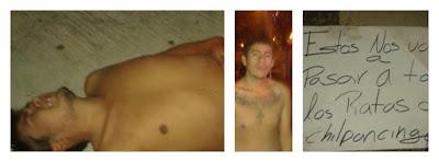 Dejan a dos jóvenes desnudos y golpeados en Chilpancingo