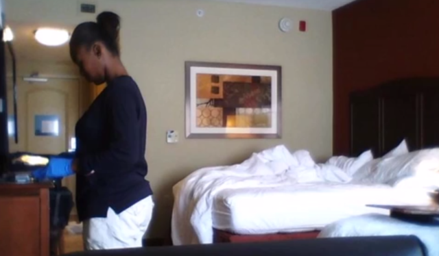 Hotel Maid Sex Video