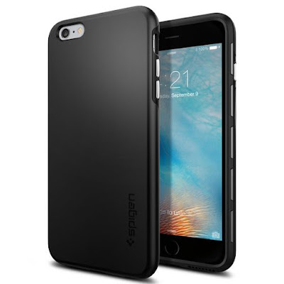 6. Spigen Thin Fit Hybrid iPhone 6s Plus Cases