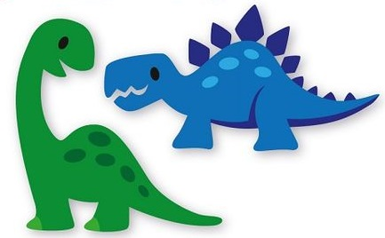 Dinossauros Com Moldes Como Fazer