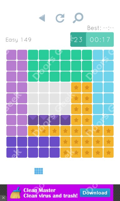 Cheats, Walkthrough for Blocks and Shapes Level 149