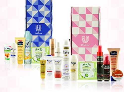 TopBox Canada Unilever Beauty Boxes $10 (Plus $5 Off Coupon) + Free Shipping