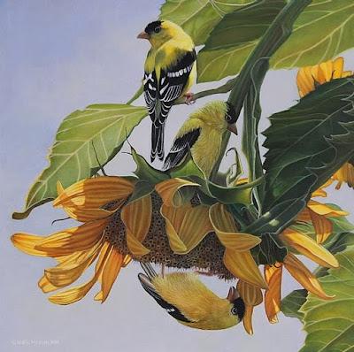 hiperrealismo-flores-leslie macon-pintura-en-oleo