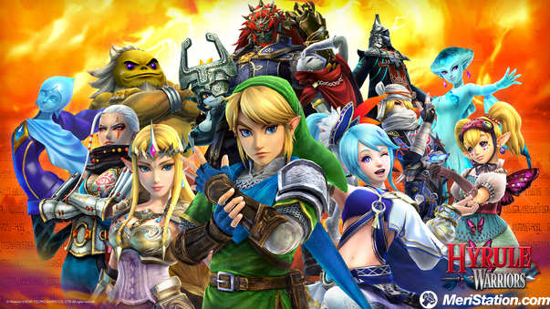 Hyrule Warriors only have 3D in New 3DS