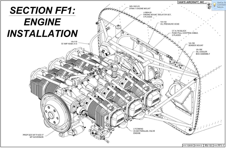 Operation Rv 10 Engine Installation