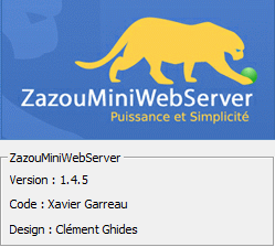 zazou mini web server