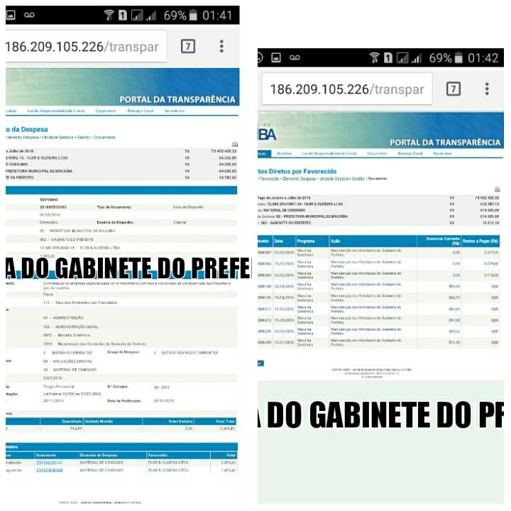 Conforme dados apurados no Portal da Transparência do site da Prefeitura  Municipal de Macaíba 5d7b6735ecf59