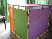 Ideas con tubos de PVC - casa para niños