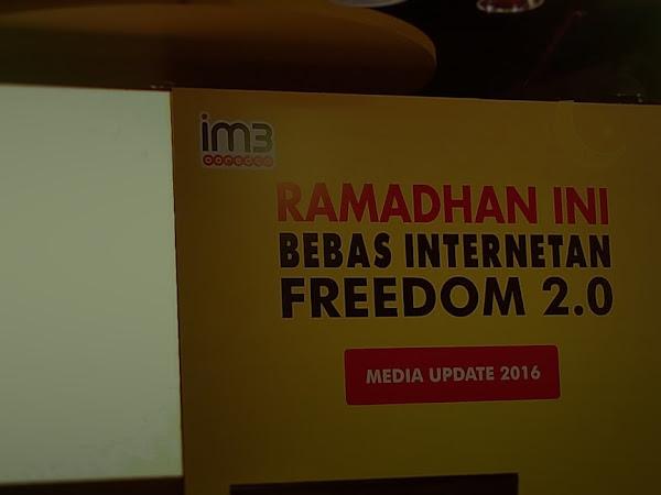 Semarak Freedom 2.0  Indosat Ooredoo sambut Bulan Suci Ramadhan.