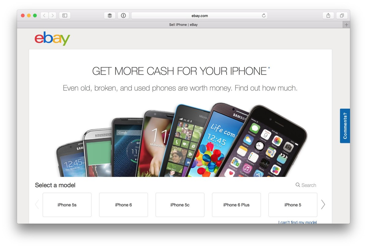 eBay Unveils Quick Sale in A Simple Way To Exchange Old iPhone ...