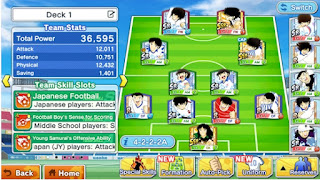 Captain Tsubasa: Dream Team Apk Mod Weak Rivals for Android