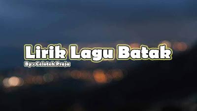 Lirik Lagu Serly, Sai Ingot Ma Au Ale Ito |Jack Marpaung Hilman Padang