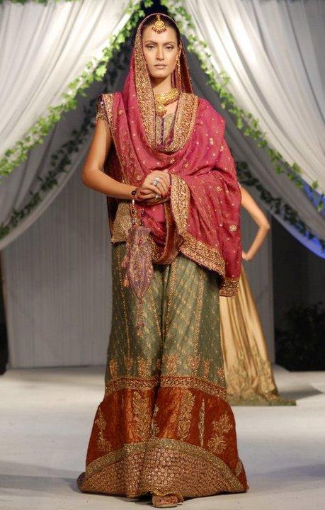 Gown Bridal Lehenga And Garara