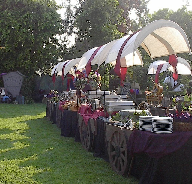 Fresh Ideas... : Catering A Gypsy Theme Event