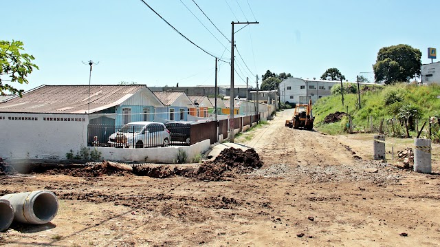 Vila Maria do Rosário recebe obras de pavimentação em doze ruas