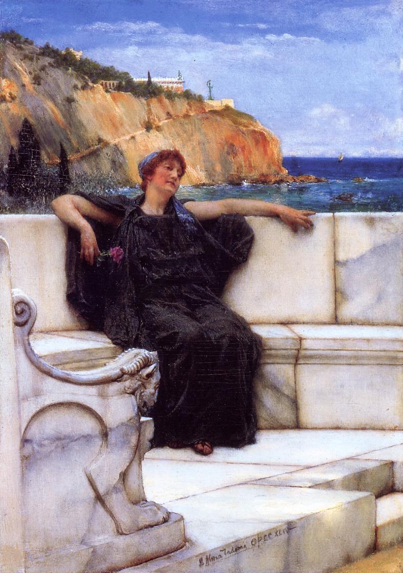 victorian british painting sir lawrence almatadema ctd