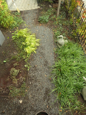 Cabbagetown Toronto Front Yard Fall Cleanup after by Paul Jung Gardening Services