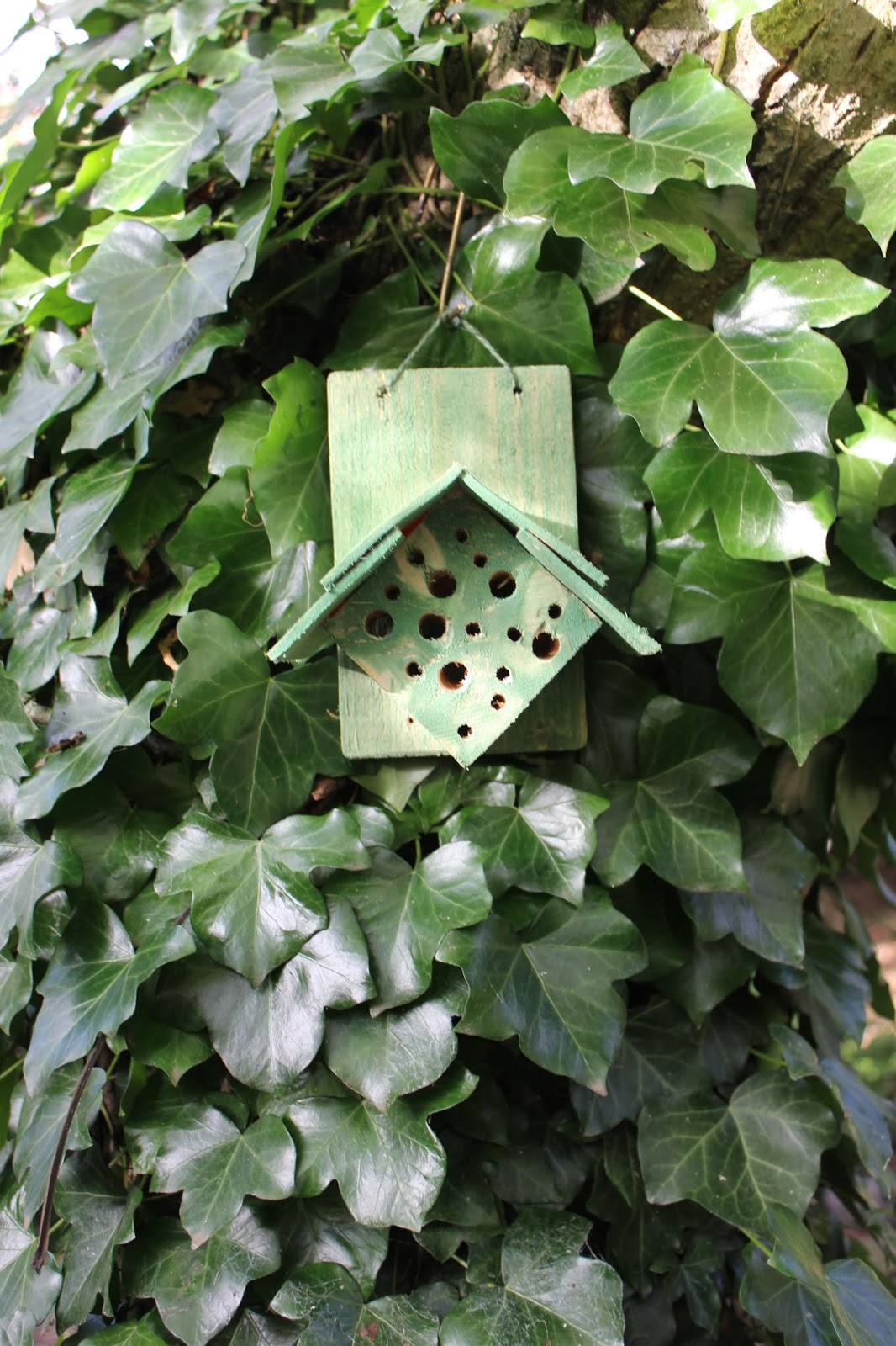 Mason Bee House from pallet wood block