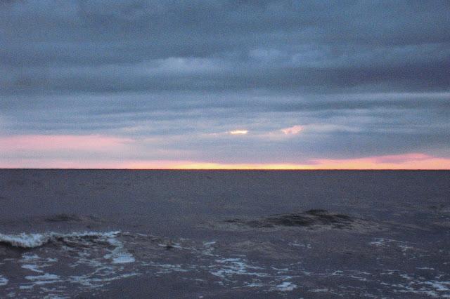 Zachód słońca w Wiciu