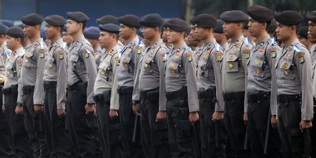 Pihak POLRI Menurunkan 95 Ribu Personelnya Pada Operasi Lilin 2018