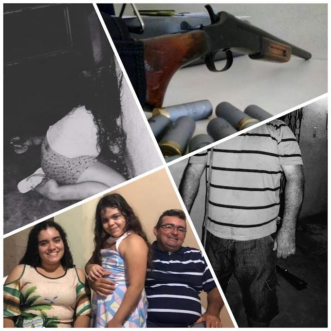Tragédia: Professor mata filha de 9 anos com tiro de escopeta na cabeça e comete suicídio