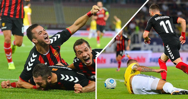 Vardar scored major win against Fenerbahce, Milan sinks Shkendija