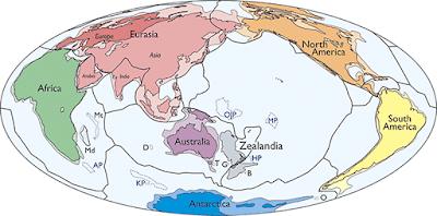 Zelândia, o novo continente