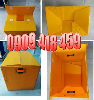thung nhua carton day xep