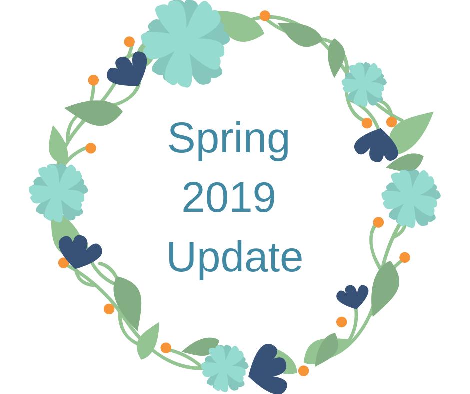 Stephanie Kamp Blog: Spring 2019 Update