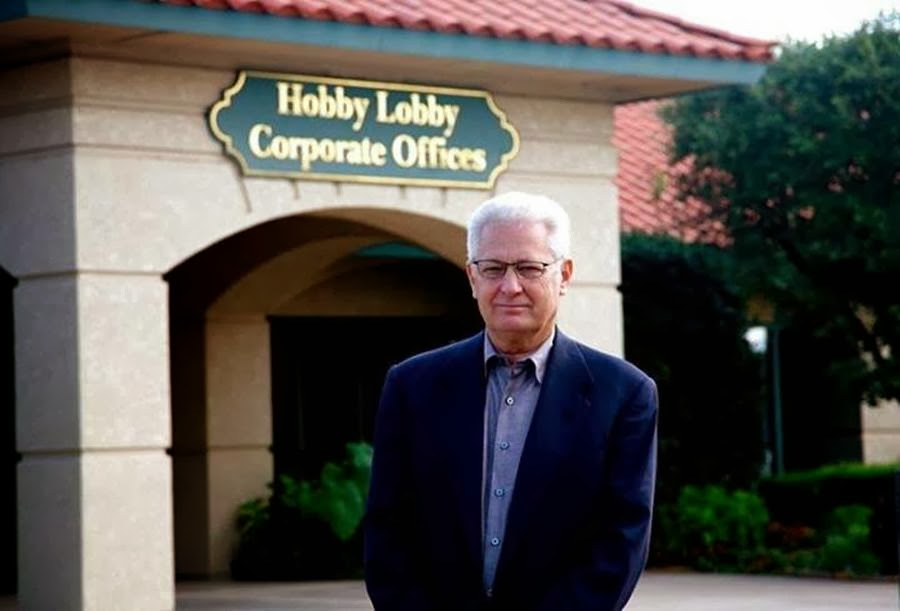 Shalom In The Wilderness: Hobby Lobby Founder-May Have to