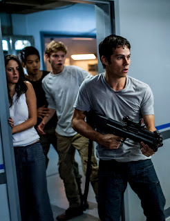 the maze runner the scorch trials-kaya scodelario-ki hong lee-thomas brodie-sangster-dylan obrien