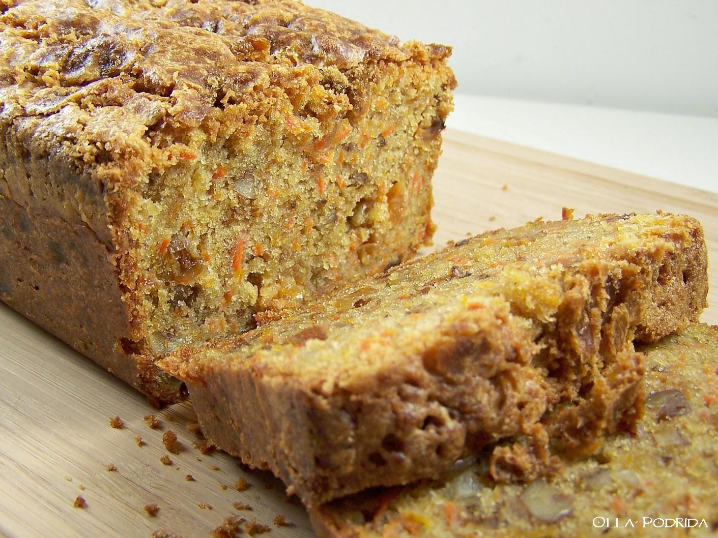 Carrot Cake Loaf All Recipes: Olla-Podrida: Carrot-Walnut Loaf Cake
