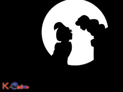 gambar kartun aladdin dan jasmine vektor terbaru   k kartun