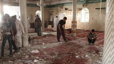 تفجير مسجد - صورة أرشيفية