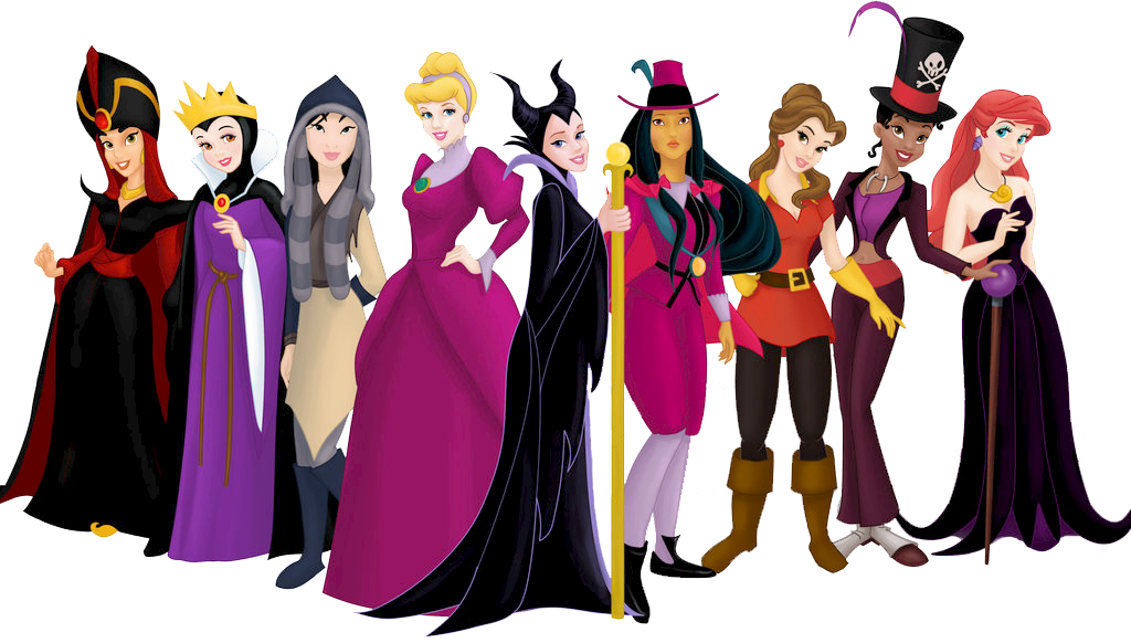 Princesas disney en halloween