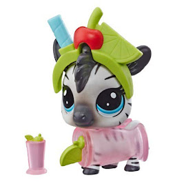 LPS Series 4 Thirsty Pets Zebra (#4-162) Pet