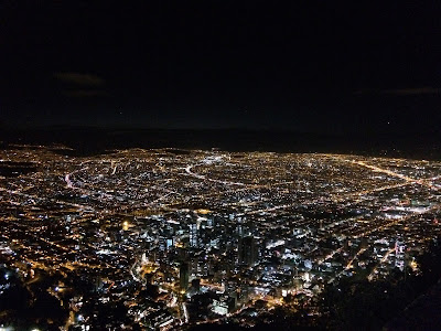 Widok z Monserrate - Bogota - Kolumbia