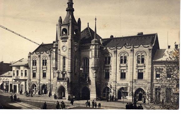 Мукачево. Площадь Кирилла и Мефодия. Ратуша