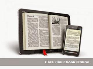 cara jual ebook online