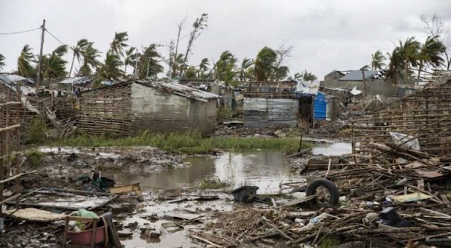 Cyclone survivors in Mozambique on the brink of facing diseases